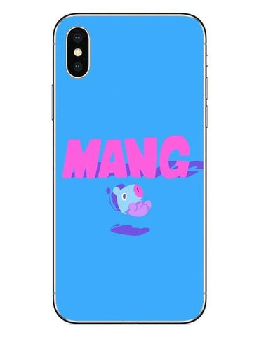 BT21 Mang 1 Phone Cases Cover (iPhone 5 5s SE 6 6S Plus 7 7Plus 8 8 Plus X 10) - Mang