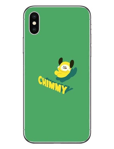 BT21 Chimmy 1 Phone Cases Cover (iPhone 5 5s SE 6 6S Plus 7 7Plus 8 8 Plus X 10) - Jimin