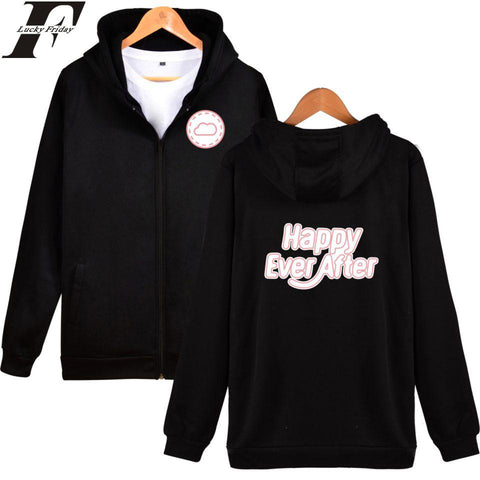 4TH MUSTER Happy Ever After Sweatshirt Hoodie