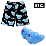 BT21 Shorts and Slippers Set KOYA - RM