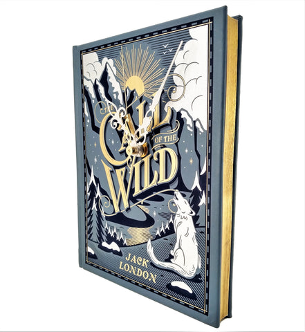 The Call of the Wild Book Clock