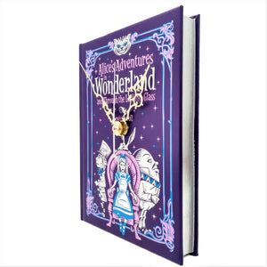 Alice's Adventures In Wonderland Book Clock