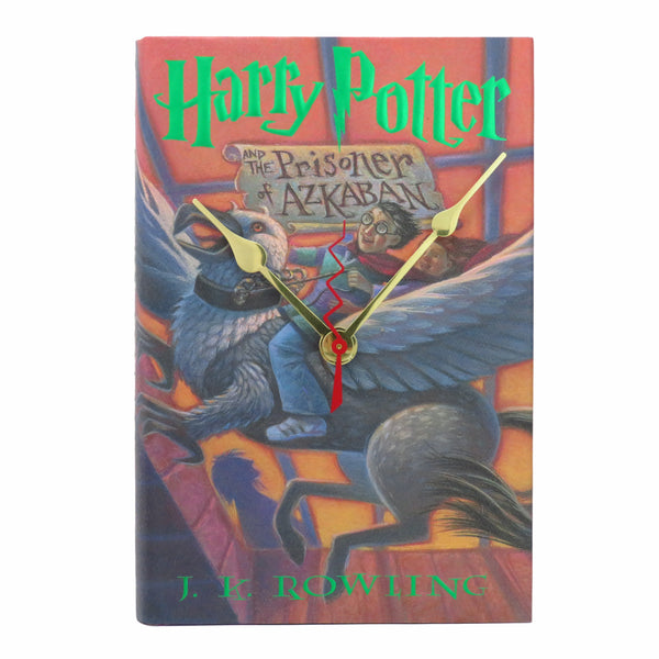 Harry Potter and the Prisoner of Azkaban Book Clock