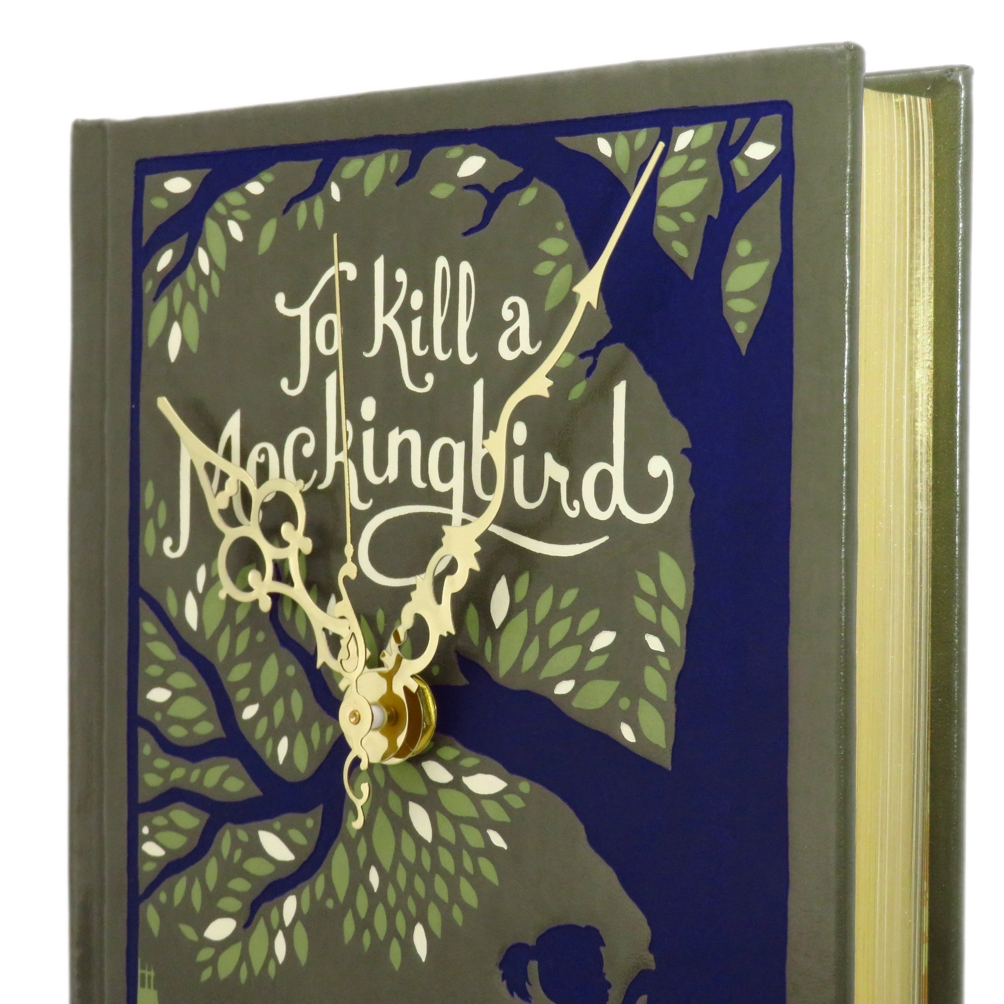 To Kill a Mockingbird Book Clock by Harper Lee