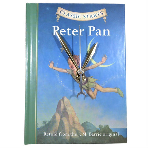 Peter Pan Book Clock