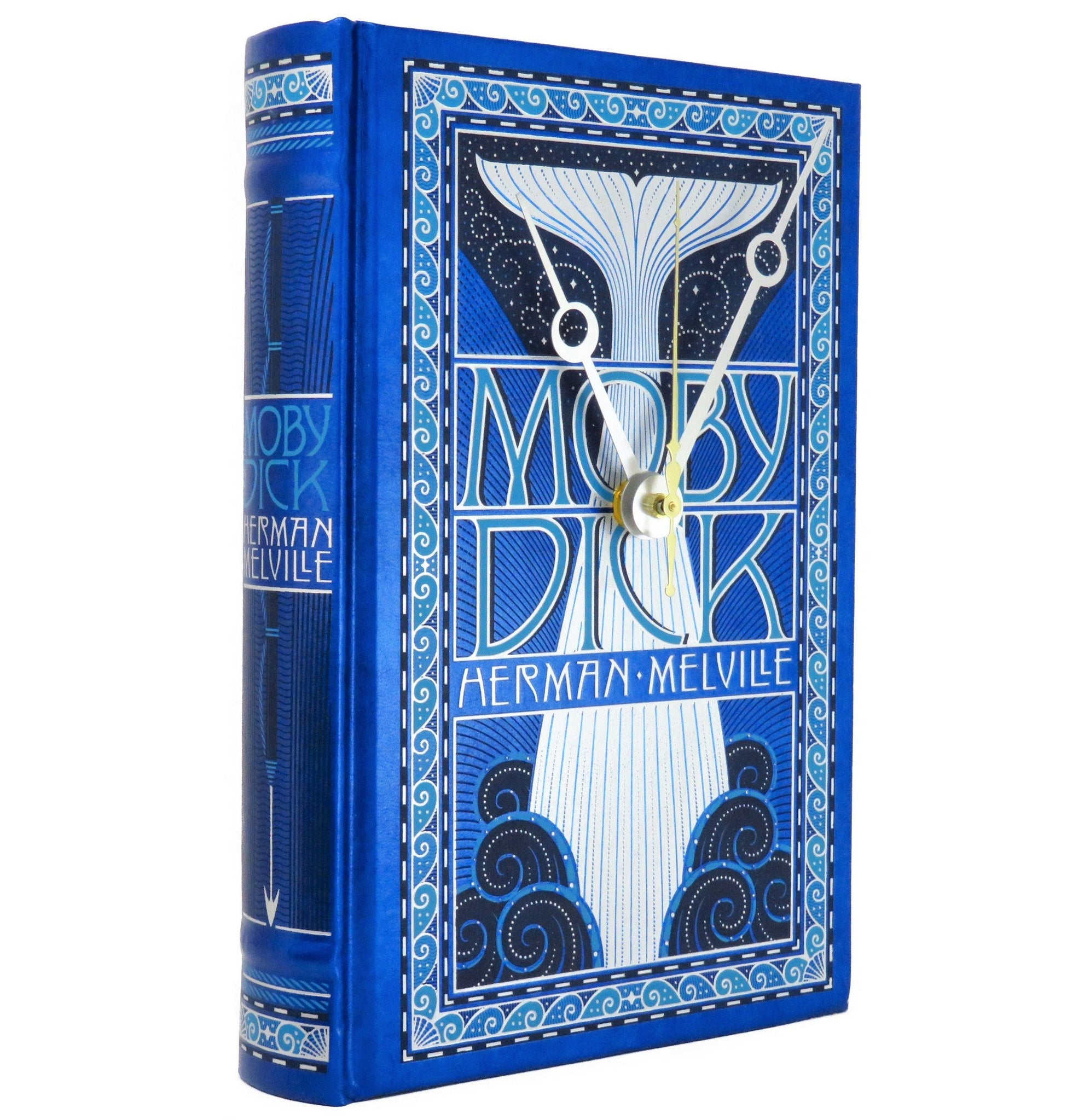 Moby Dick Book Clock