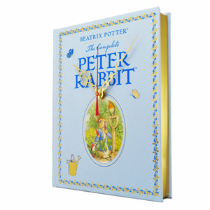 The Tales of Peter Rabbit Leather Bound Book Clock