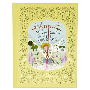 Anne of Green Gables Leather Bound Book Clock