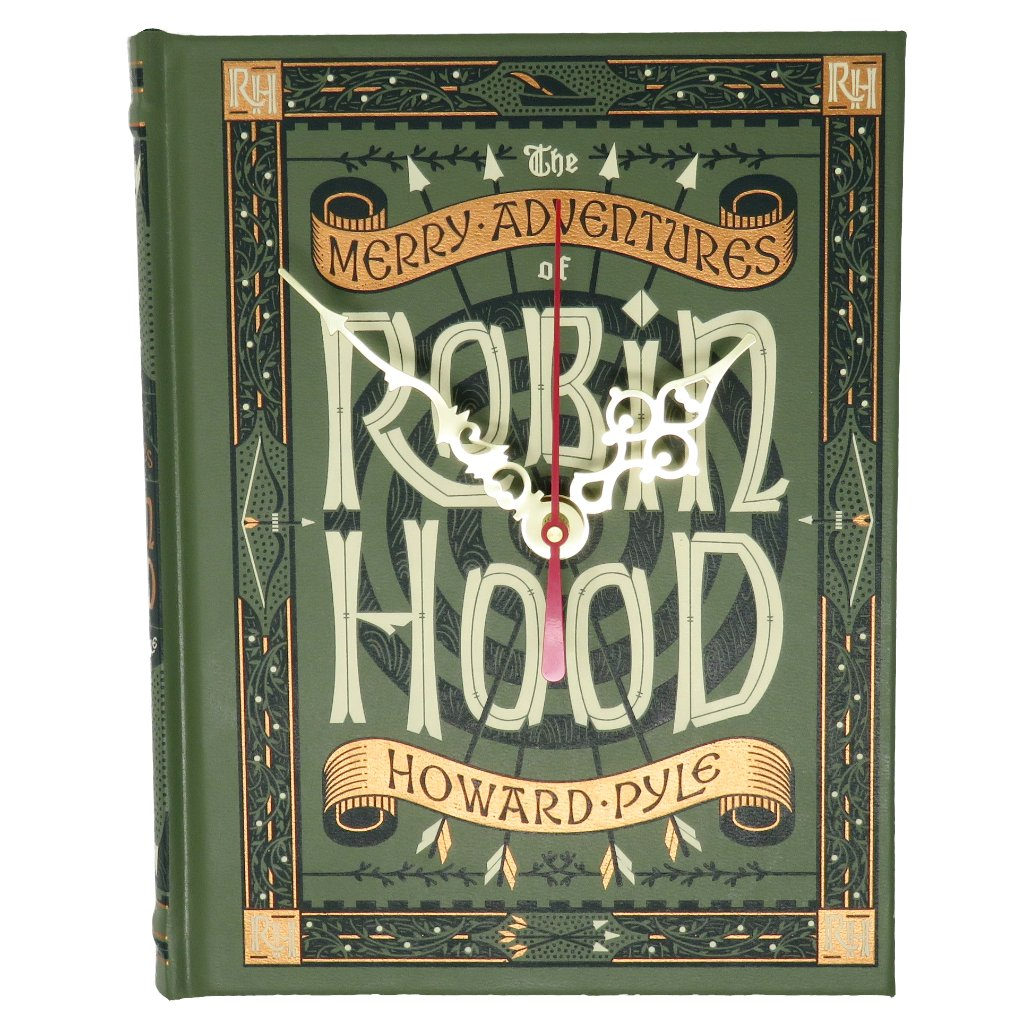 Robin Hood Book Clock