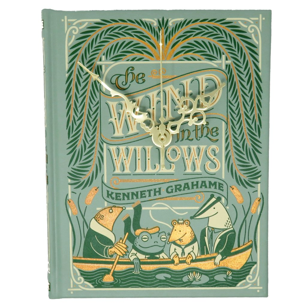 The Wind in the Willows Book Clock