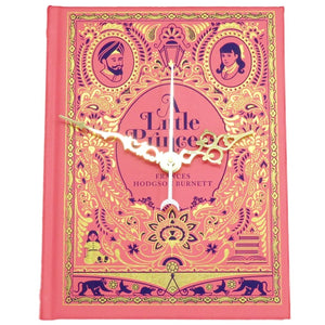 A Little Princess Book Clock