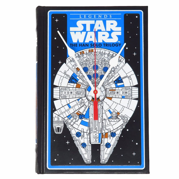 Star Wars The Han Solo Trilogy Book Clock