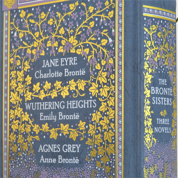 The Bronte Sisters Three Novels Book Clock - Wuthering Heights - Jane Eyre - Agnes Grey