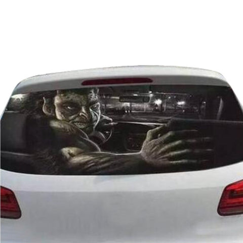 Funny Car Rear Window Decoration Sticker