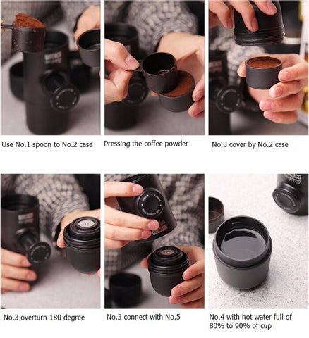 Minipresso Portable Coffee Maker