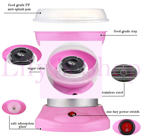 Sweet Mini Cotton Candy Maker