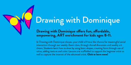 Learn how to paint or draw in Bend Oregon with Dominique's private art lessons.