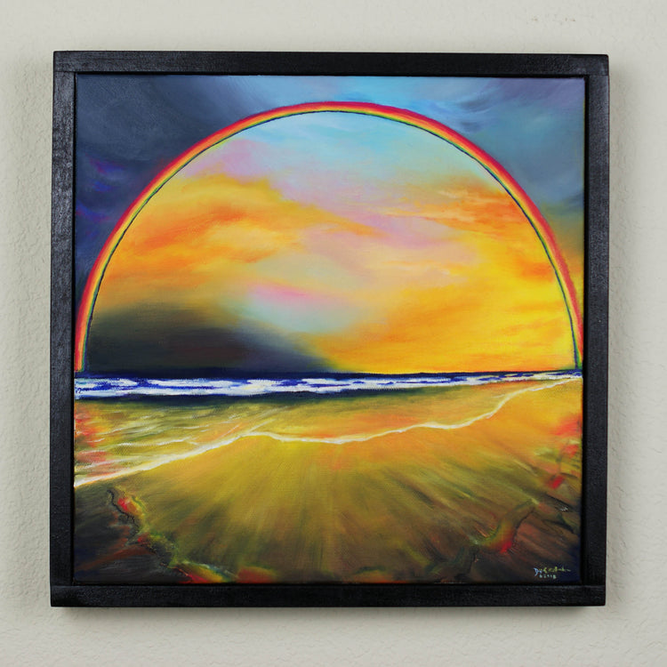 Warmth, Light & Color (I LOVE YOU!) (SOLD)