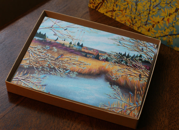 Bend Series - Fine Art Cards - multipack