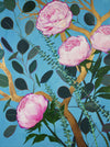 "Peonies: ""Barbie's Adventure!"" Stretched Canvas Giclee (signed print)"