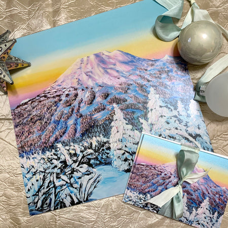 Mount Bachelor Snow Gift Box