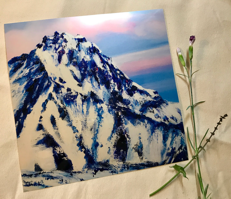 Nature's Majesty, Sister's Mountain - PRINT