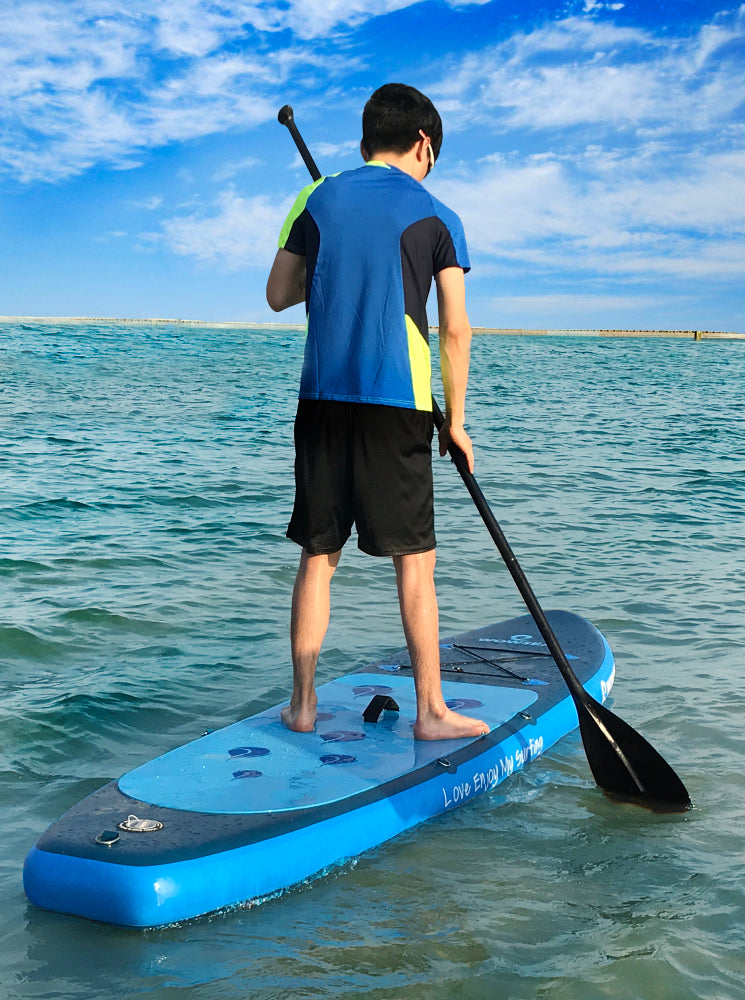 WOWSEA Inflatable 10 inch Stand Up Paddle Board AN16 iSUP Packages - www.wowseastore.com