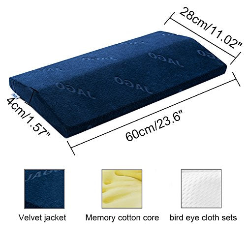 Memory Cotton Backrest Pregnant Women Waist Pillow Cushion Sleeping Lumbar Waist Outer Bed Triangle Lumbar Pillow - www.wowseastore.com