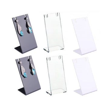 6 Pack Mini Earrings Racks Tipo L Orecchini Holder Storage - it.wowseastore.com