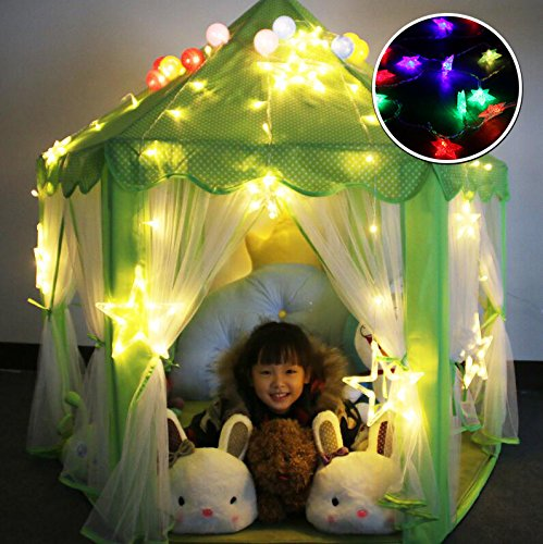 Princess Castle Kids Play Tent Children Playhouse - www.wowseastore.com