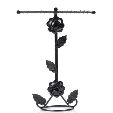 Rose Stand Jewelry Display Necklace Earring Bracelet Holder - www.wowseastore.com