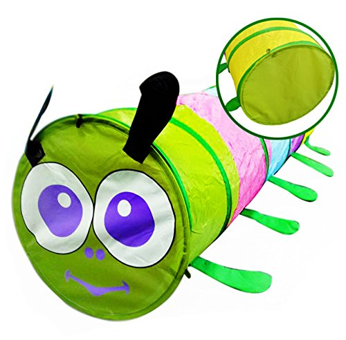 Caterpillar Indoor Pop Up Riproduci Tunnel per bambini piccoli - it.wowseastore.com