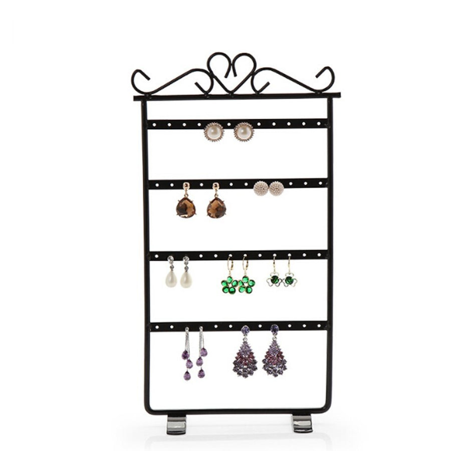 Jewelry Organizer Rack Earring Holder Necklace Bracelet Stand - www.wowseastore.com
