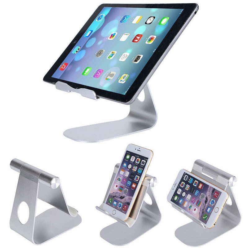 Adjustable Tablet Stand Aluminum Multi-Angle Desktop Stand Holder - www.wowseastore.com