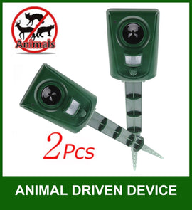 Impermeabile PIR Electronic Animal Pest Repellent Dog / Cat / Birds Pacchetto 2 - it.wowseastore.com