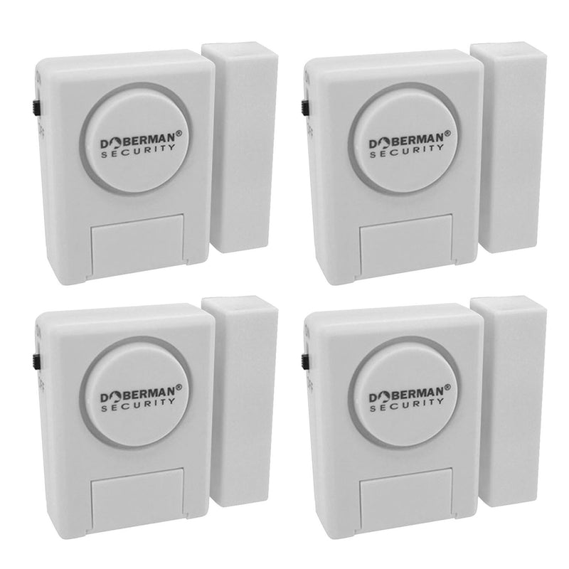 Household Window and Door Sensor Security Alarm Set(4PCS) - www.wowseastore.com