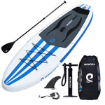 WOWSEA Inflatable Stand Up 10 inch Paddle Board AN14 iSUP Package