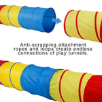 6-ft Play Tunnel Kids Tent Children Pop-up Toy Tube - www.wowseastore.com