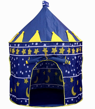 Children Play Tent Foldable Castle Playhouse per bambini - it.wowseastore.com