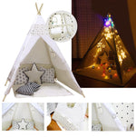 Kids Teepee Tent Indian Play Tent for Outdoor and Indoor Play - www.wowseastore.com