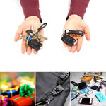Mini USB Rechargeable LED Keychain Flashlight Small Torch Light Aluminum - www.wowseastore.com