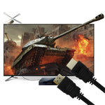 HDMI Cable 6ft HDMI 2.0 (4K) 30AWG High Speed 18Gbps Video 4K 2160p, HD 1080p - www.wowseastore.com