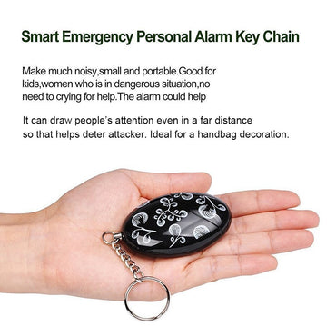 120dB Loud Emergency Personal Alarm Keychain SOS Self Defense(4PCS) - www.wowseastore.com