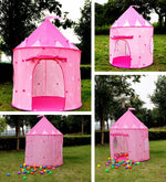 Princess Castle Play Tent with Glow in the Dark Stars - www.wowseastore.com