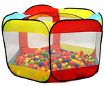 Ball Pit Play Tent for Kids - 6-sided Playhouse for Children Indoor or Outdoor Tent - www.wowseastore.com