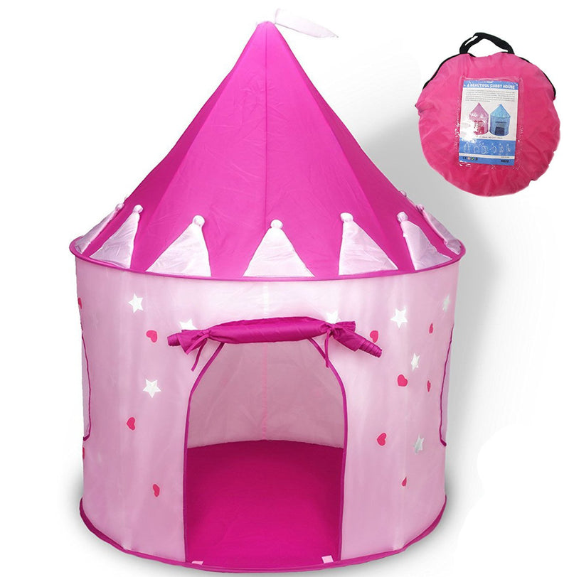 Princess Castle Gioca a Tent con Glow in the Dark Stars - it.wowseastore.com