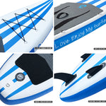 WOWSEA Insuflável Stand Up 10 polegadas Paddle Board AN14 iSUP Pacote