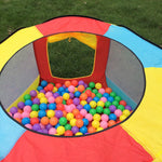 Ball Pit Play Tent for Kids 6-sided Playhouse for Children - www.wowseastore.com