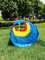 Rainbow Indoor Play Tunnel per Kid 6ft Portable Children Play Tent - it.wowseastore.com
