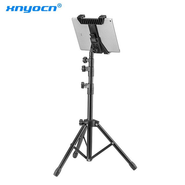 New Adjustable Tablet Tripod Floor Stand Universal Tablet Holder Mount Tablet Support Bracket for 7-11 inch Tablets Pad for Ipad